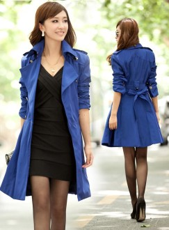 Spring-Overcoat-Lady-Belted-Trench-Coat-Cloth-Elegant-Sexy-Long-Dress-Outdoor-Windbreaker-2013-2014-Autumn